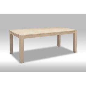 Veneto spisebord 90 x 140 cm med plass til 2 tillegsplater i hvitoljet eik.