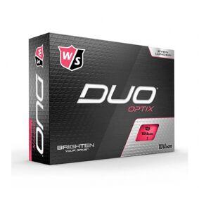 Wilson Staff Duo Optix Pink - 12 Golfballer