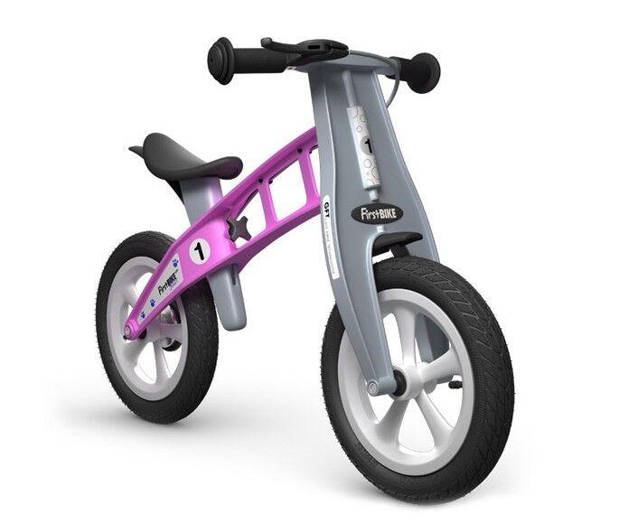 FirstBIKE løpesykkel - STREET rosa