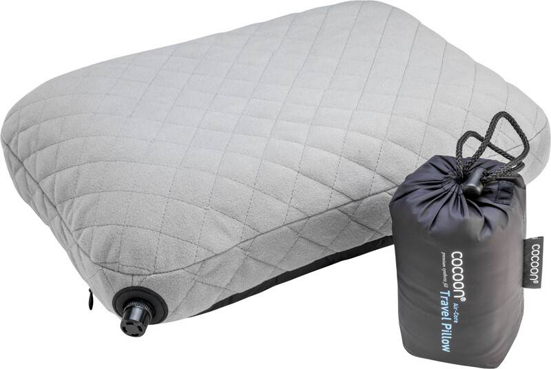 Cocoon Air Core Pillow charcoal/smoke grey  2021 Puter
