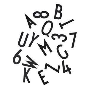 Design Letters Letter Box 150 pcs/50mm Black