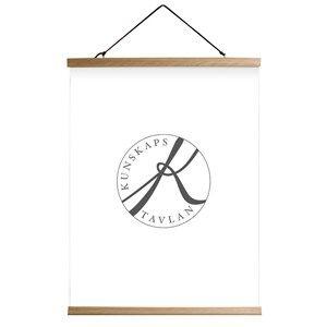 Kunskapstavlan Oak Poster Hanger 51 cm
