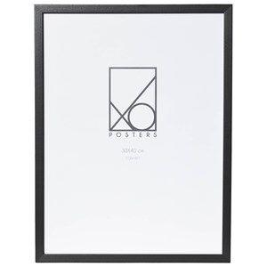 XO Posters 30x40 Frame Wood Black