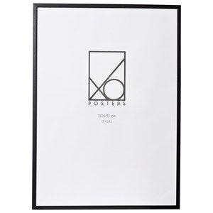 XO Posters Frame Wood 50x70 cm Black