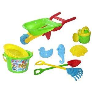Oliver & Kids Strand Sett Handcart 8 Deler 3 - 10 years