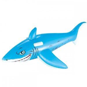 Bestway Great White Shark Ride-On Pool Float 183 x 102 cm 3 - 5 years