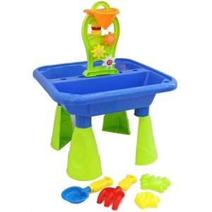 Oliver & Kids Sand Beach Table with Water Mill and 4 pcs of Accessories 12 months - 7 years