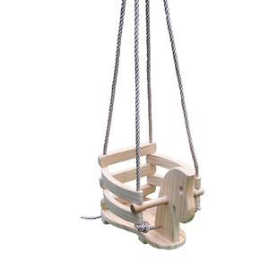 Oliver & Kids Wooden Horse Baby Swing 12+ months