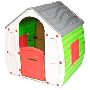 Oliver & Kids Playhouse in Green/Grey 3+ years
