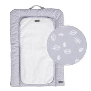 Vinter & Bloom Nordic Leaf Changing Mat Gentle Blue