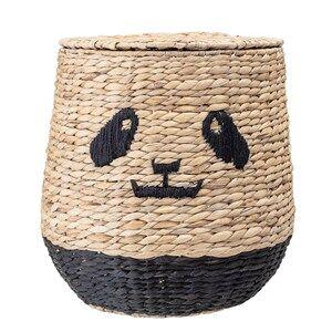 Bloomingville Basket With Lid Panda Water Hyacinth