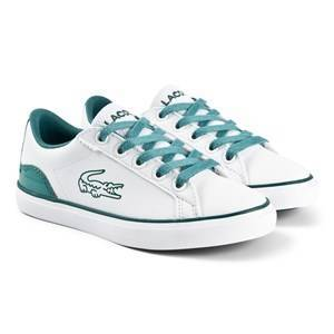 Lacoste Lerond Sneakers Hvit/Grnn 38 (UK 5)