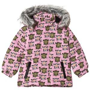 Gardner and the gang Winter Jacket Pink 1-2 r