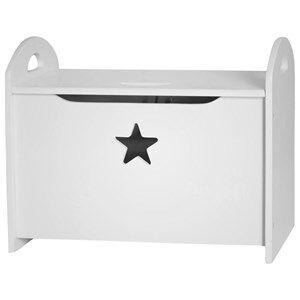 Kids Concept Casket Star White Casket Star White
