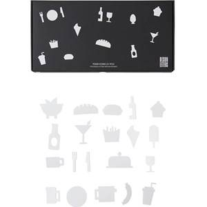 Design Letters Food Icons for Message Board White (21 Pack)