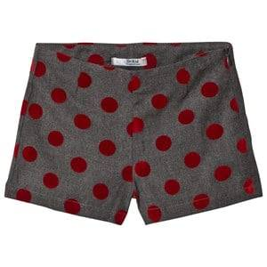 Dr Kid Grey and Red Spotted Shorts 12 years
