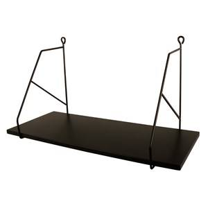 FORM Living Black Wall Shelf