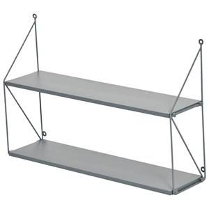 JOX 2-Level Wall Shelf Musty Grey