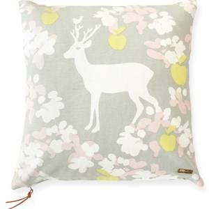 Majvillan Apple Garden Cushion Cover Grey