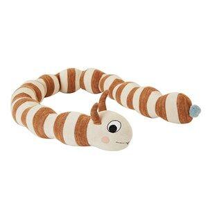 OYOY Leo Larva Toy Off White/Caramel