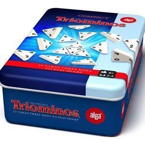 Alga Triominos Travel Tour tin Game 6+ years