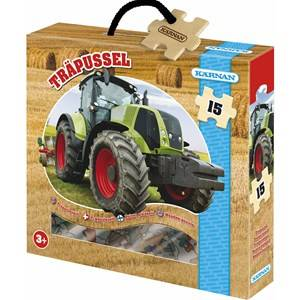 Egmont Krnan Tractor Wood Puzzle 3+ years