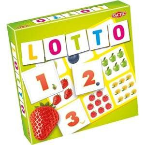 Tactic Lotto, Siffror & Frukter 3+ years