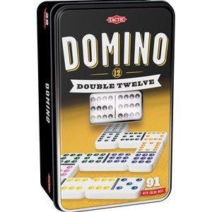 Tactic Spel, Domino, Dubbeltolva, 91 brickor 8 - 18 years