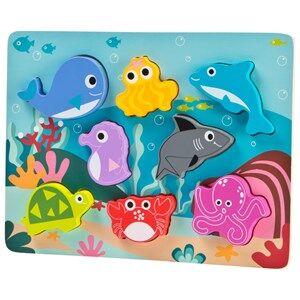 Wood Little Sea animal puzzle