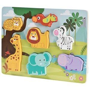 Wood Little Animal Puzzle