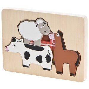 Wood Little Farm Puzzle