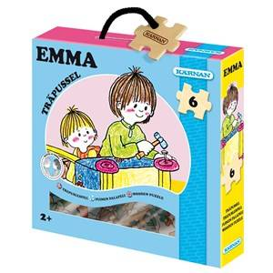 Egmont Krnan Emma Wooden Puzzle 24+ months