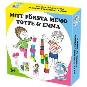 Egmont Krnan My First Memory Totte & Emma 3 - 6 years