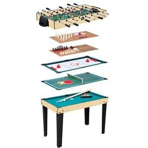Best Time Toys Multi game table with R graphic