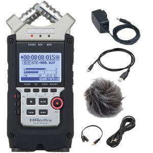 Zoom H4n-PRO handy audio recorder + SD kort + tilbehør