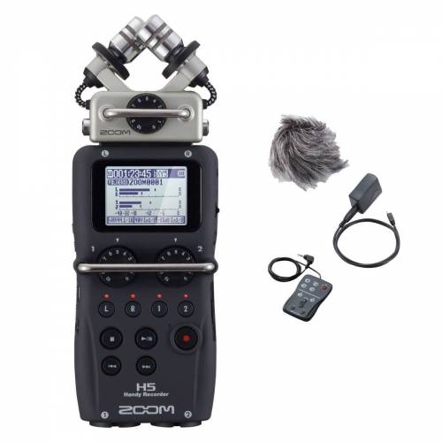 Zoom H5 handy audio recorder + S...