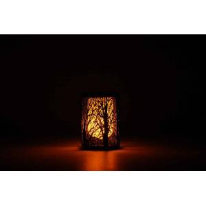 Redshow LIG-19 solcelle flamme-lampe