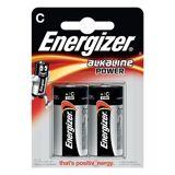Energizer Alkaline Power C batterier (2 stk)