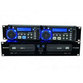 2 Omnitronic XCP-2800 CD-spiller