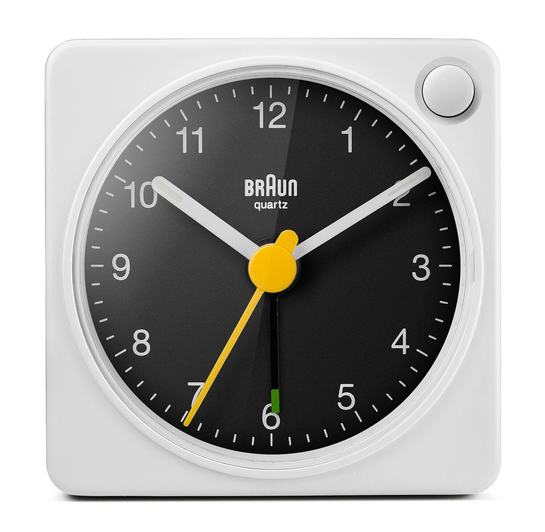 Braun Solid klokke til vekking (Lydløs sekundviser og lys) - Braun Alarm Clock BC02XWB