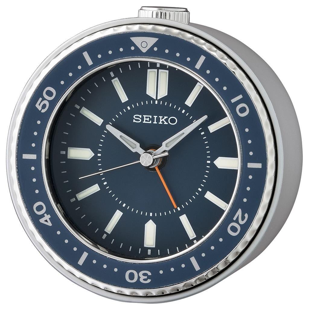 Seiko Quiet Sweep Alarm Clock QHE184L