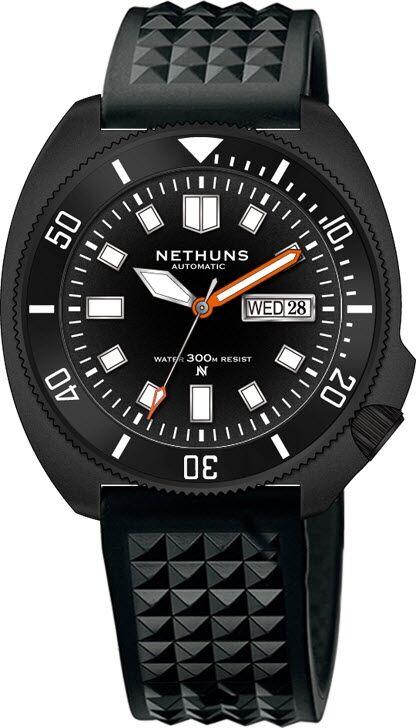 Nethuns Aqua Steel 300M Automatic Diver AS311
