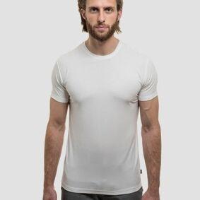Tufte Herre Crew Neck Tshirt White  XL