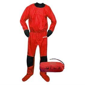 Tahe Air Drysuit, Unisex, Red  L
