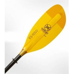 Werner Shuna Karbon/Glassfiber, Rett skaft Yellow  210