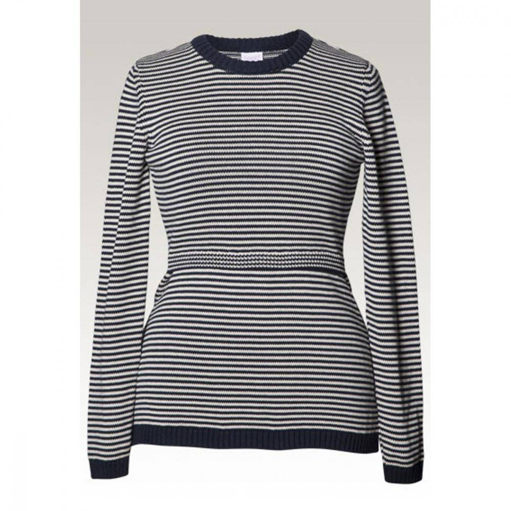 Boob, Francis sweater, midnight blue/offwhite