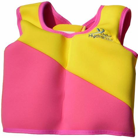 HydroKids, svømmejakke, rosa