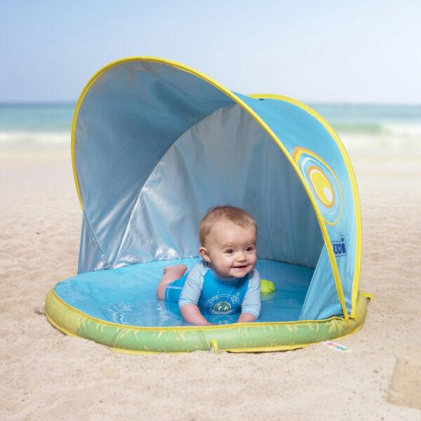 Ludi Strandtelt med Anti UV og babybasseng