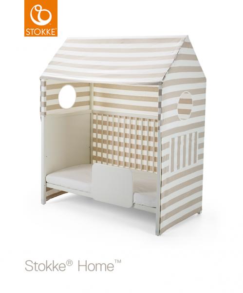 Stokke® Home™ Seng Telt, beige stripet