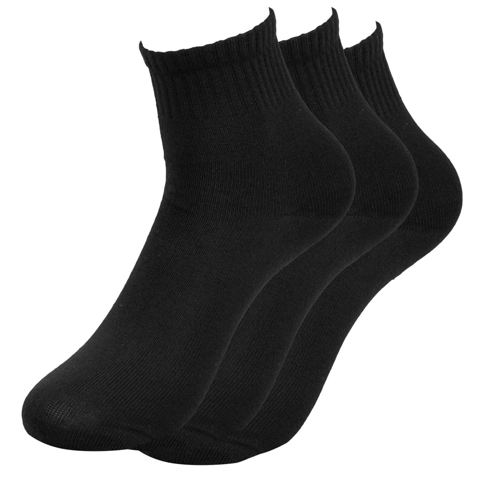 Trendhim 3-Pakk Svarte Sokker - Størrelse 40-45